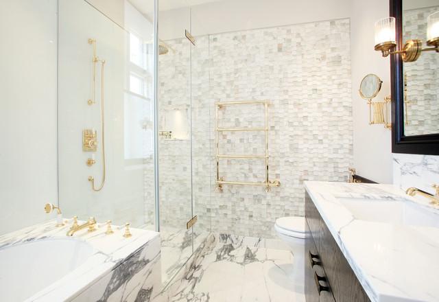 Lennox Gardens for Bonchi Interiors Peek Architecture contemporary-bathroom