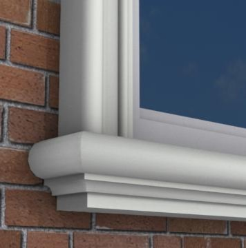 Exterior Trim Under Window Sill Door Trims Window Trims And Trim