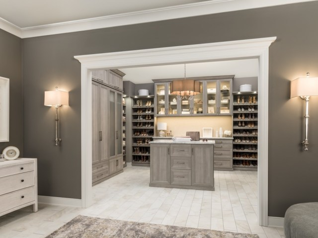 Master Suite And Closet Modern Closet Chicago By The Organized Home