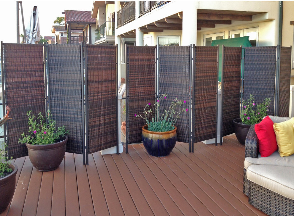 portable folding patio privacy screens