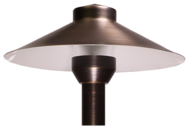 brass mushroom light low voltage landscape light led