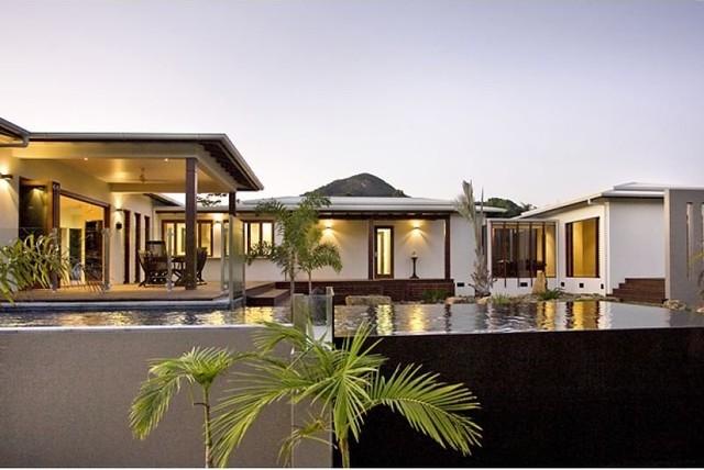 Pavilion House Asian Exterior Brisbane By Skale
