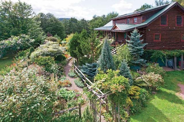 Rustic Cabin Cottage Garden