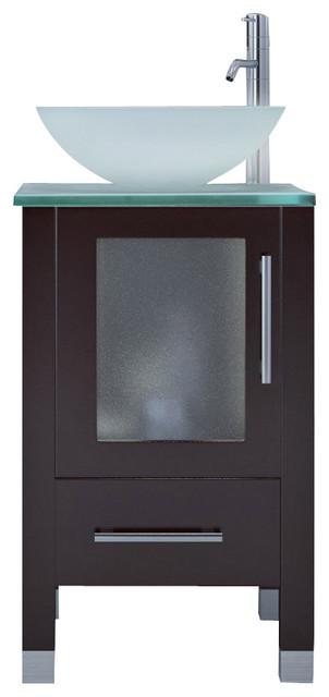 17 75 soft focus small vessel sink modern contemporary bathroom vanity cabinet