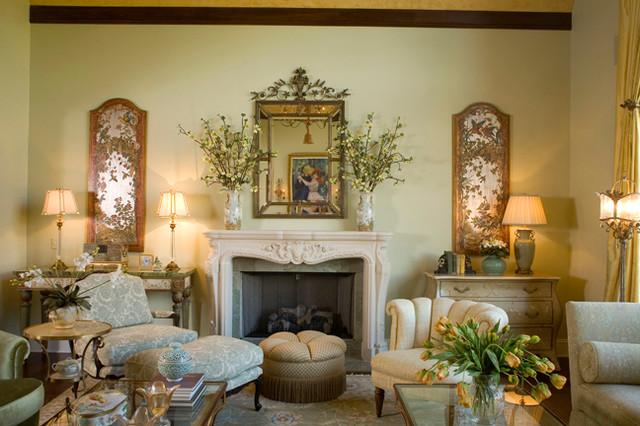 French Inspired Living Room Design Aecagraorg