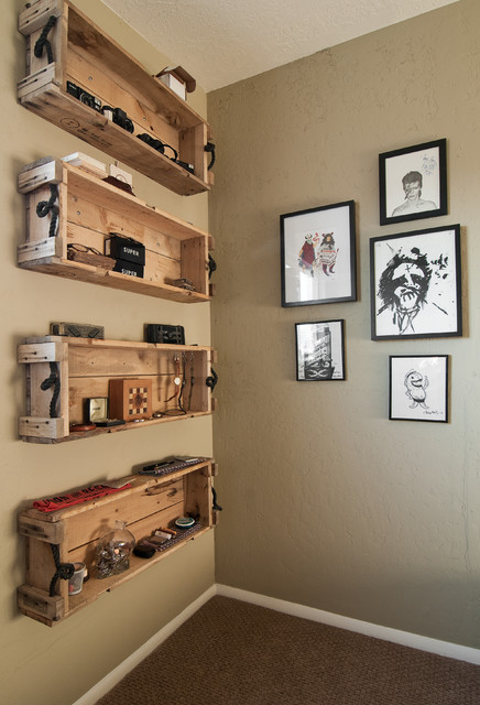 My Houzz: Eclectic Repurposing Fits First-Time Homeowners in Utah eclectic