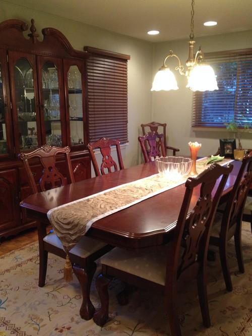 Ideas To Modernize Dining Room Set Please