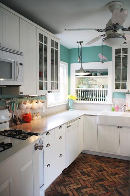 1950 S Cottage Kitchen Traditional Kitchen Austin