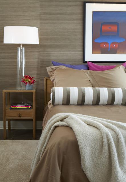 Plaza Towers Condo Renovation modern-bedroom