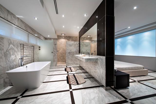 Open Concept Master Bedroom 3