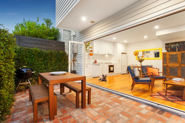 Chatham Street contemporary-patio
