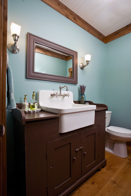 mill creek ridge farmhouse - farmhouse - bathroom - minneapolis