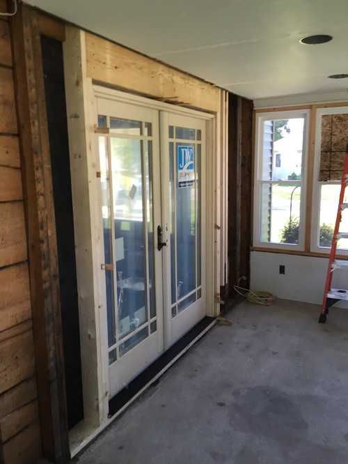 Enclosed Front Porch Design