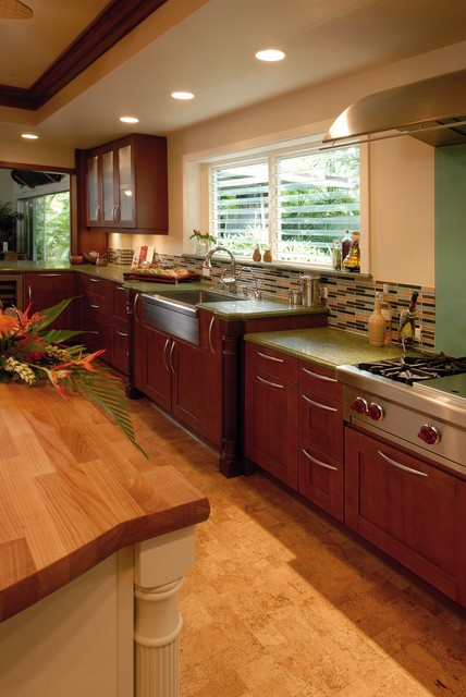 Hale Aina By The Sea Tropical Kitchen Hawaii By