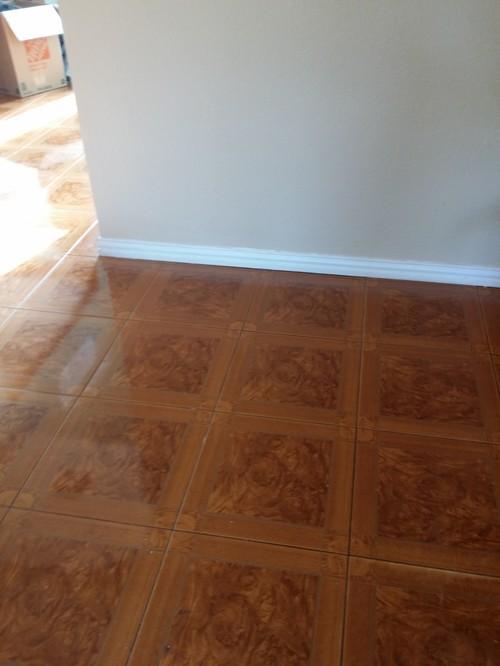 Perfect Paint Color For Orange Tone Tile Floor