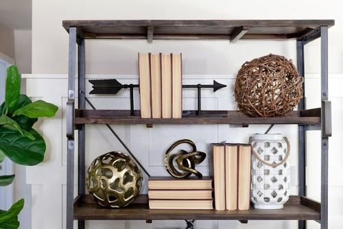 Rustic Organic Living Room