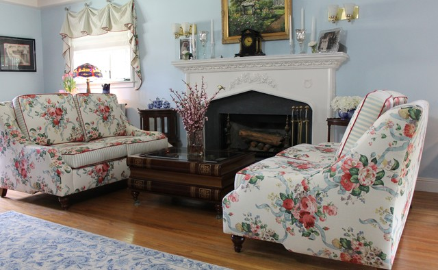 Terriers Tweeds English Country Cottage Interior Inspiration Living Room