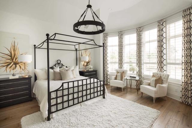 Whitley Place // Prosper, TX // Huntington Homes // Plan 6181 transitional-bedroom