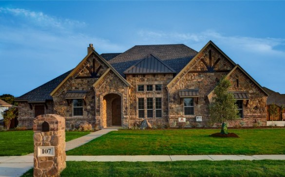 Bailee Custom Homes   Rustic   Exterior   Dallas   by Q Home Designs Bailee Custom Homes rustic exterior
