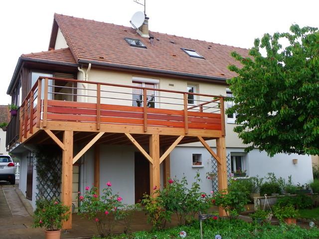Comment Construire Une Terrasse Suspendue