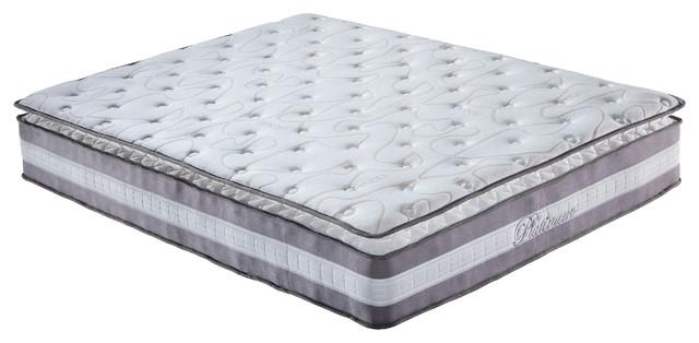 Plush Pillow Memory Foam Mattress Queen Modern Mattresses
