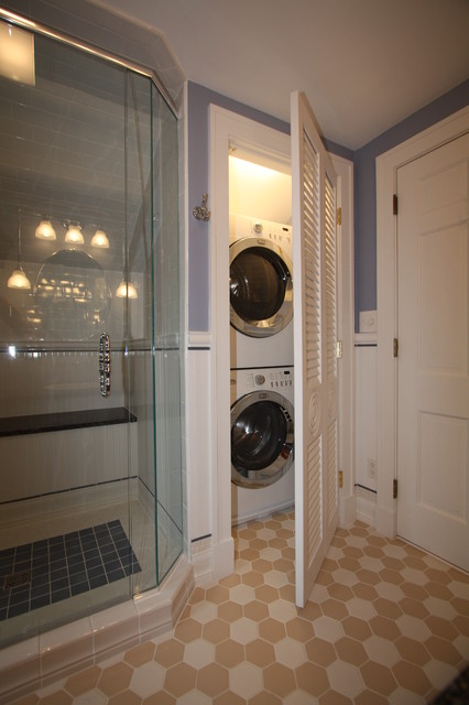 Bathroom Designs Washer And Dryer