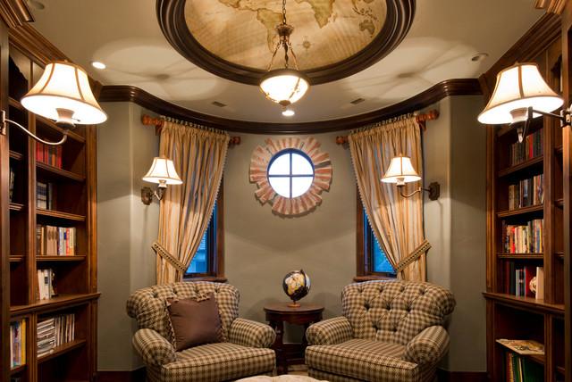 Berkshire Residence mediterranean-family-room