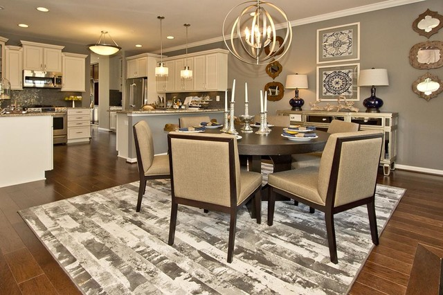 M I Homes Of Dc The Point At Arundel Preserve Chandelier Model Contemporary