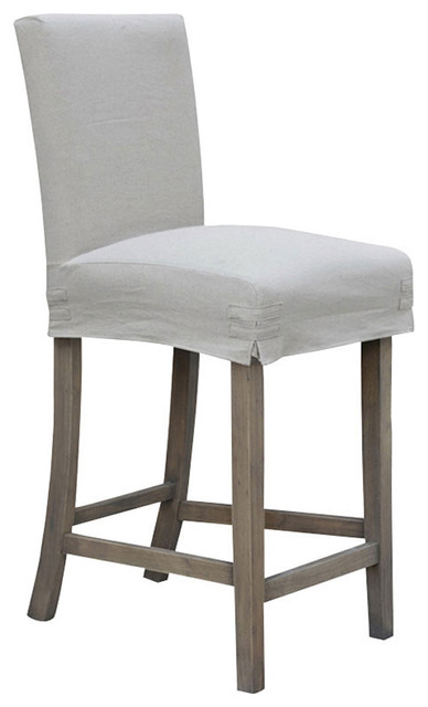 24 Counterstool With Slipcover Contemporary Bar