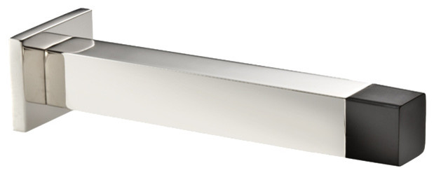 Stainless Steel Wall Doorstop Polished Square
