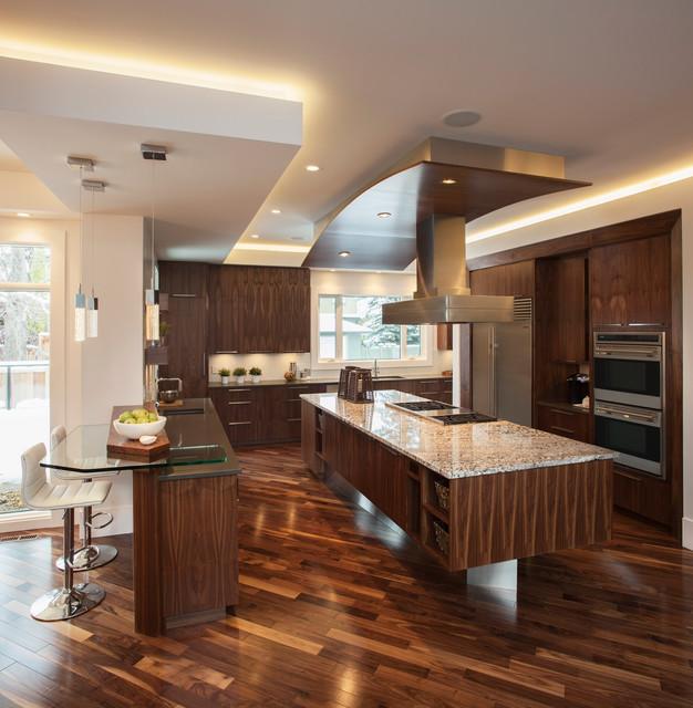 Mount Royal Show Home Contemporary Kitchen Calgary