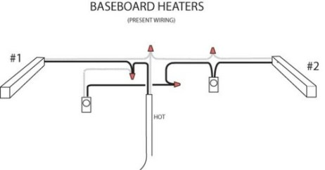 electric baseboard heaters thermostat wiring diagram wiring diagram wiring 240 volt baseboard heater wall mounted thermostat