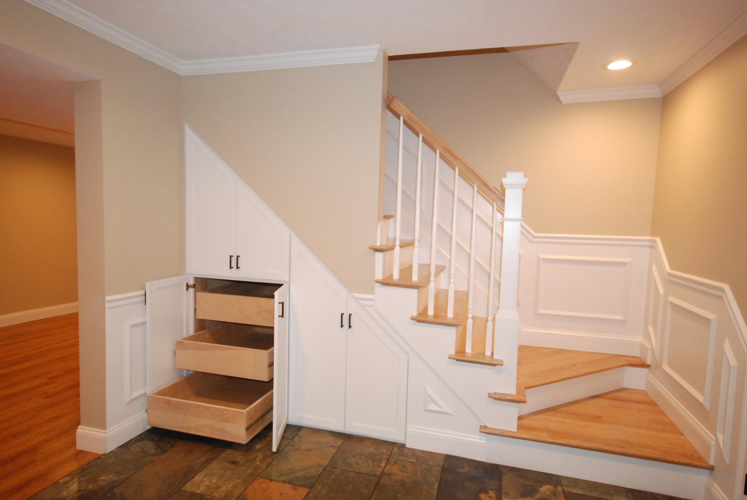 Basement Stair Storage Houzz