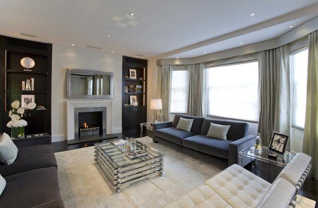 Fabulous Interior Designs, LLC contemporary-family-room