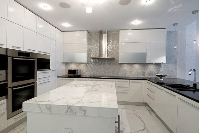 Condo Kitchen Design Ideas Contemporary