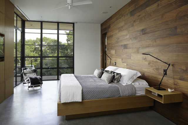 hill country residence - modern - bedroom - austin - by