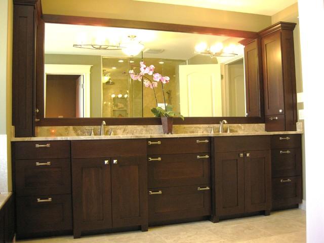 double vanities bathrooms.  classy and functional double,