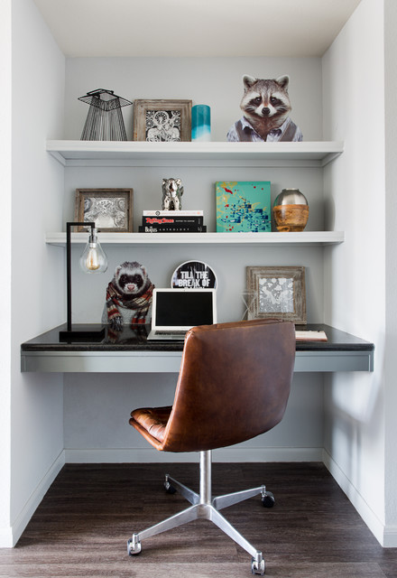 The Guild at Red River contemporary-home-office