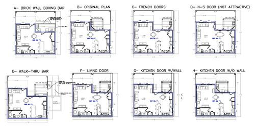 Outdoor Kitchen Floor Plans
