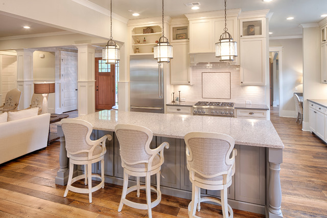 Williamsburg Low Country Neighborhood Traditional Kitchen