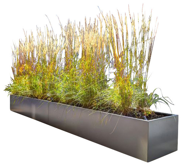 Tall Metal Planters Outdoor