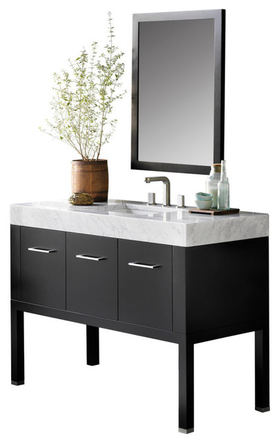 Wonderful Design Element Huntington Contemporary Bathroom Vanity Set Free