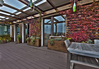 Terrazzo con Vista contemporary-deck