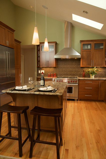 Portland Hills Transitional Transitional Kitchen