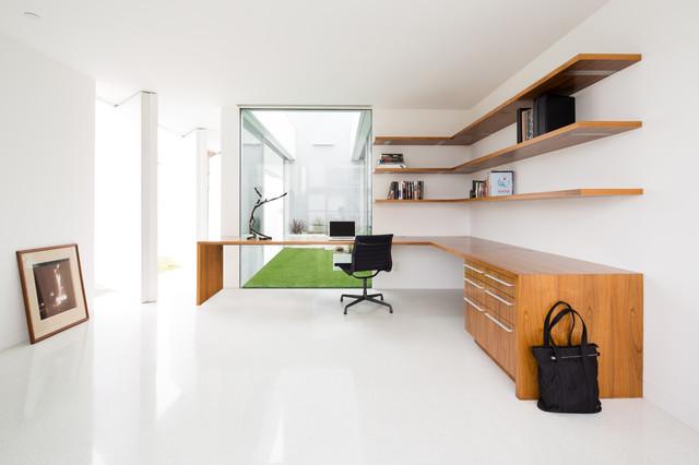 Flip Flop House moderne-bureau-a-domicile