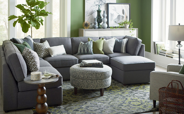 U Shaped Couch Living Room Furniture