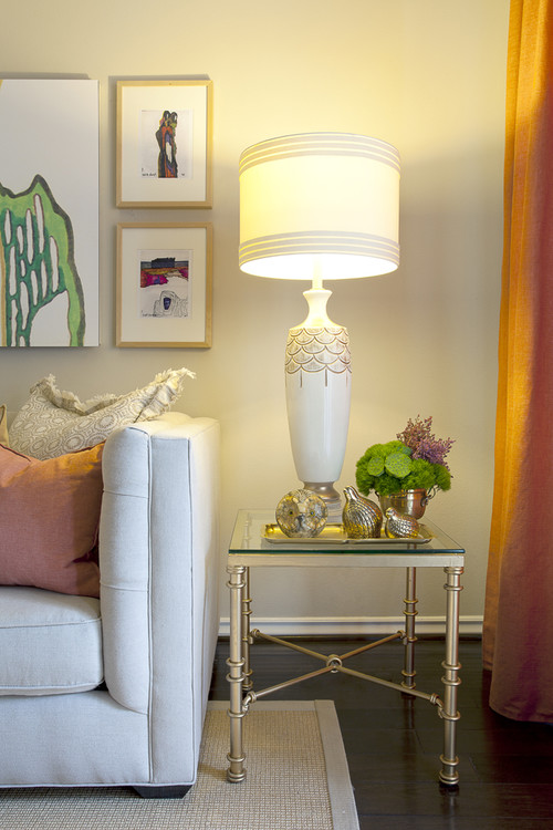 how to decorate your living room side