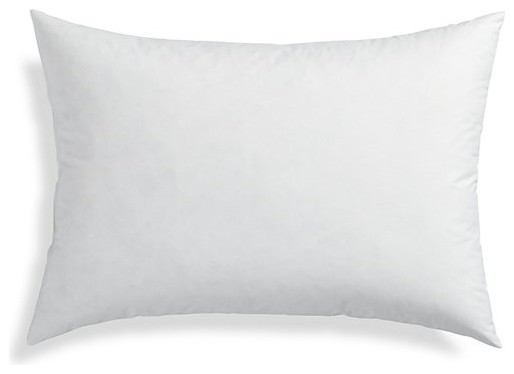 rectangle pillow inserts 16 x36 high quality sham pillow insert made in usa