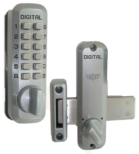 LockeyUSA Digital Door Lock Surface Mount Deadbolt
