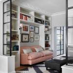 Partition Between Living Room Houzz